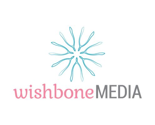 Wishbone Media Logo Design