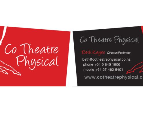 Theatre logo and business card design