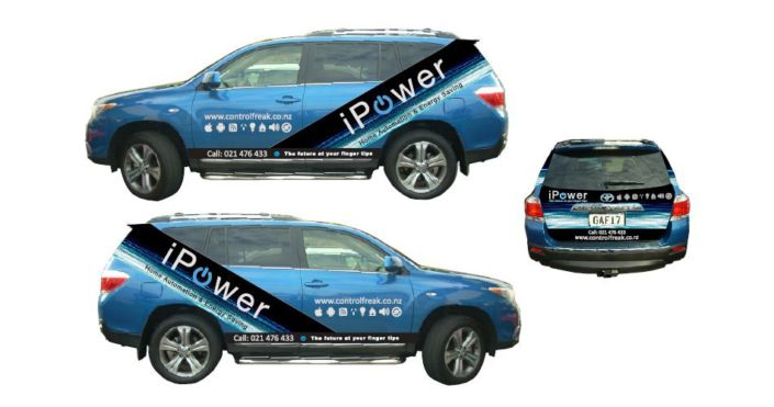 livery vehicle signage design
