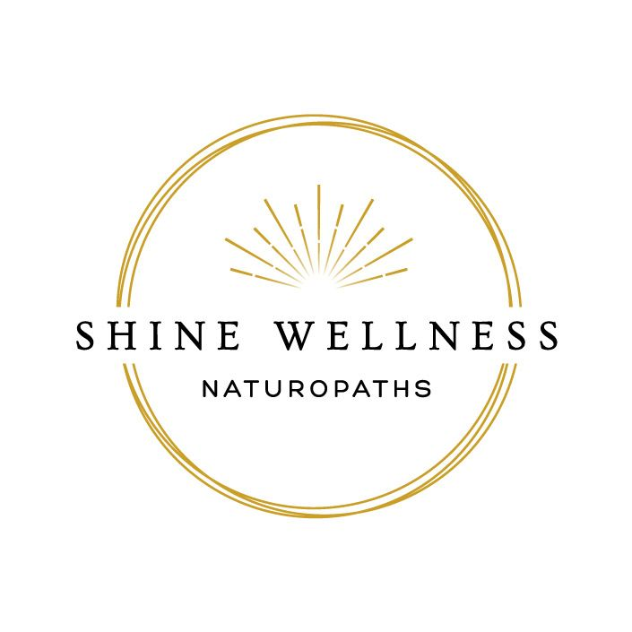 Shine Wellness Naturopath Logo Design NZ