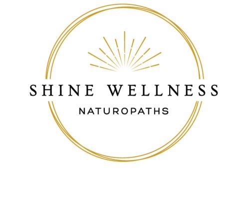 Shine Wellness Naturopath Logo Design NZ