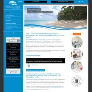 accommodation website design